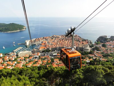 Dubrovnik Cable Car in Dubrovnik