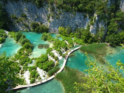 Plitvice Lakes National Park in Zagreb
