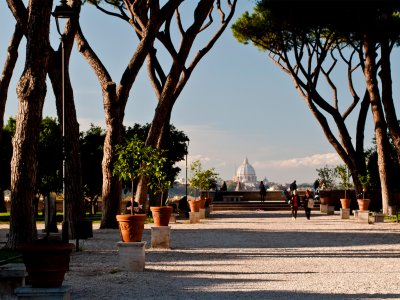 The Orange Garden in Rome