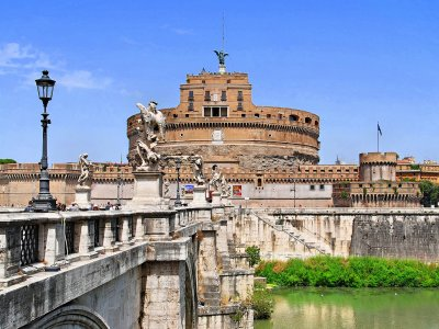 Castle of the Holy Angel in Rome