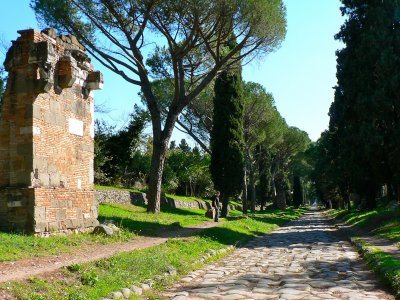 Appian Way in Rome