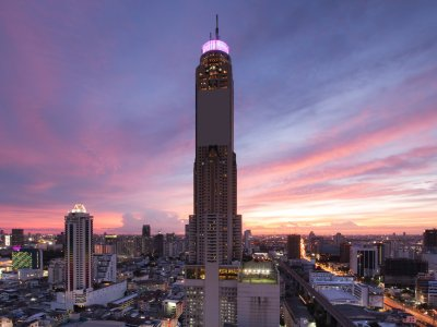 Baiyoke Sky Tower in Bangkok