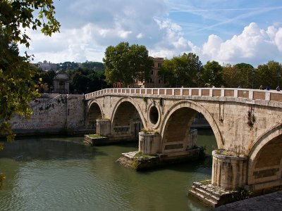 Cavour Bridge in Rome