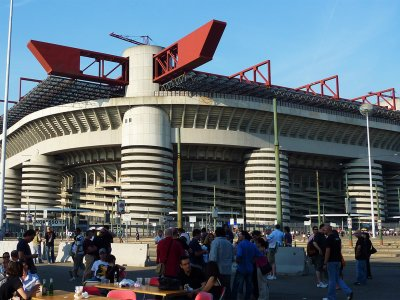 San Siro Stadium in Milan