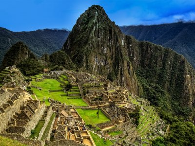 Machu Picchu in Aguas Calientes