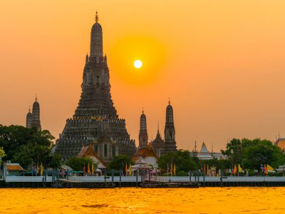Temple of Dawn Wat Arun in Bangkok
