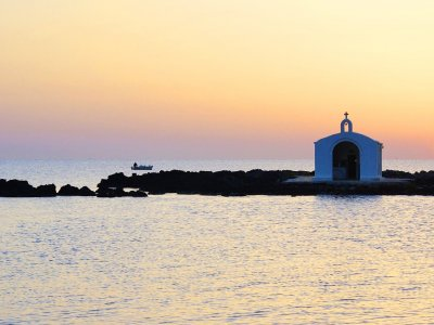 Saint Nikolas church on Crete