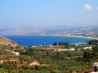 Georgioupoli village on Crete