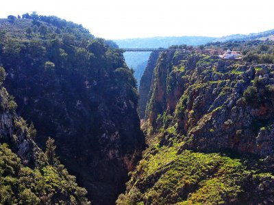 The Gorge of Aradena on Crete