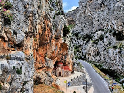 Kotsifos Gorge on Crete
