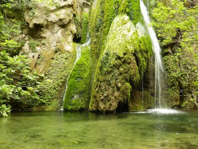 Richtis waterfall on Crete