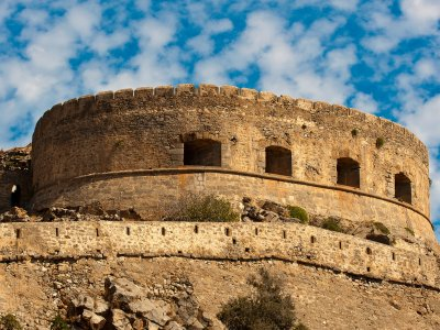 Fortress of Spinalonga on Crete
