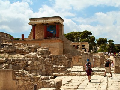 Knossos Palace on Crete
