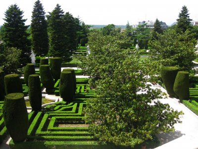 Sabatini Gardens in Madrid
