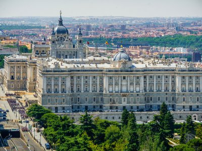 Royal Palace of Madrid in Madrid