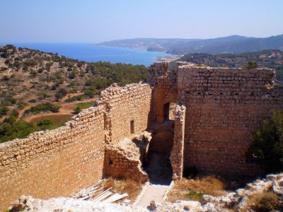 Kritinia Castle on Rhodes