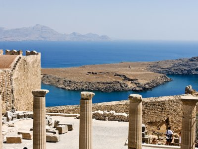 Acropolis of Lindos on Rhodes