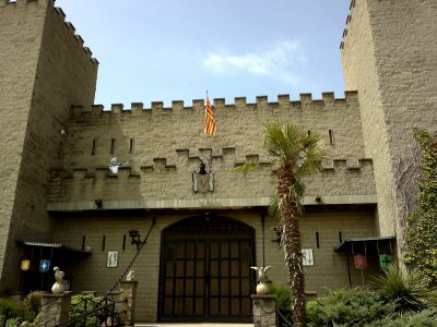 Castle de Valltordera in Barcelona