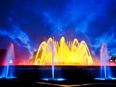 Magic Fountain of Montjuïc in Barcelona
