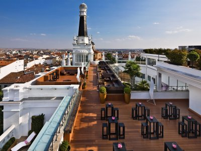 The Roof Bar in Madrid