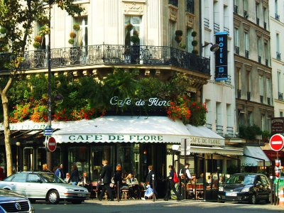 Cafe de Flore in Paris