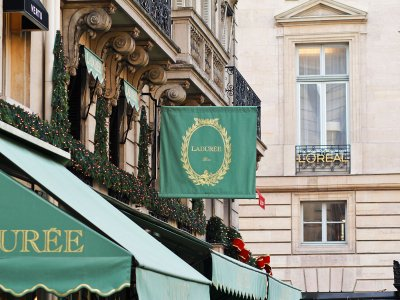 Sweet-shop Laduree in Paris