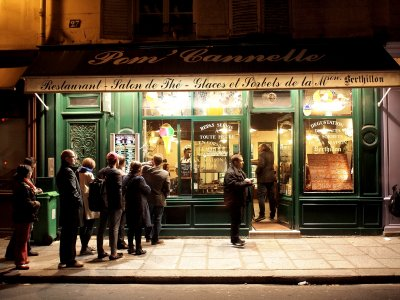Berthillon Cafe in Paris