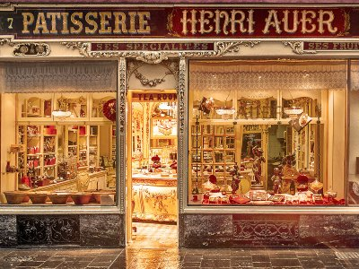 Henry Auer sweet-shop in Nice
