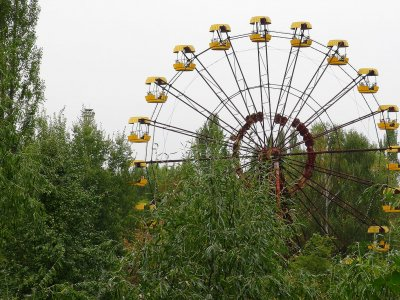 Amusement park in Chernobyl