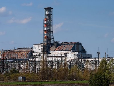 Chernobyl Nuclear Power Plant in Chernobyl