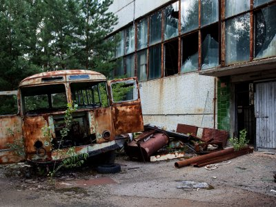 Jupiter factory in Chernobyl