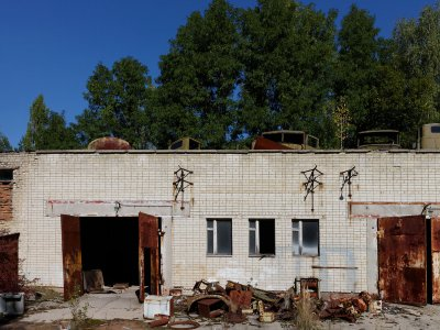 Fire Station in Chernobyl