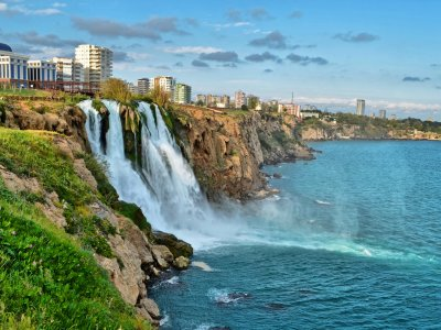 Duden Waterfalls in Antalya