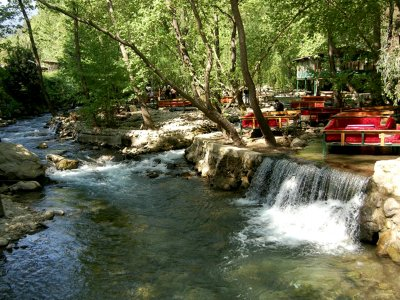 The Ulupinar River in Antalya