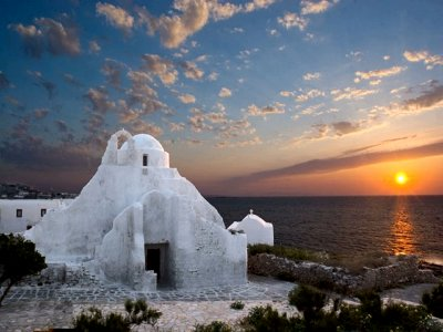 Church of Panagia Paraportiani on Mykonos
