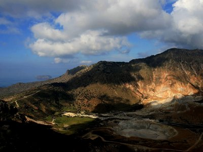 Nisyros volcano on Kos