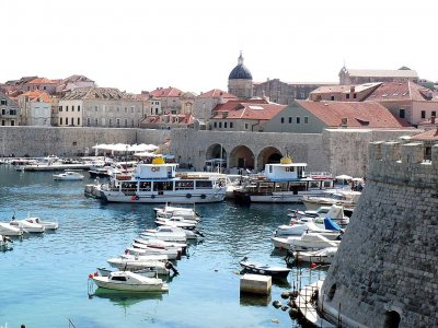 Old Port in Dubrovnik