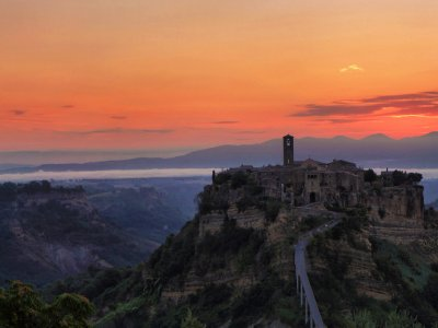 Orvieto and Bagnoregio ghost town
