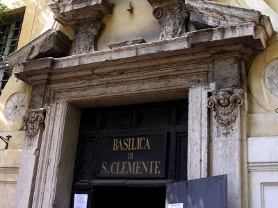 The Basilica of San Clemente al Laterano undergrounds
