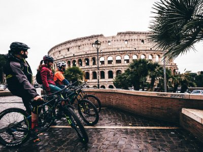 Bike tour around Rome