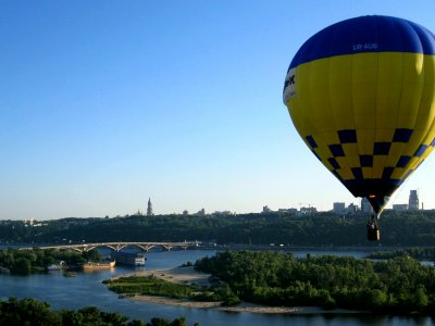 VIP Flight on a hot air balloon