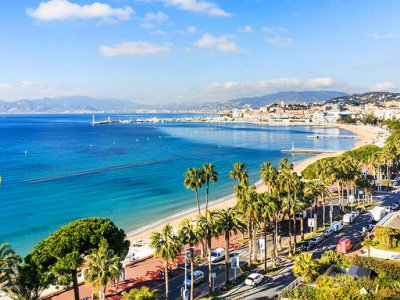 Well-known sights of Cannes