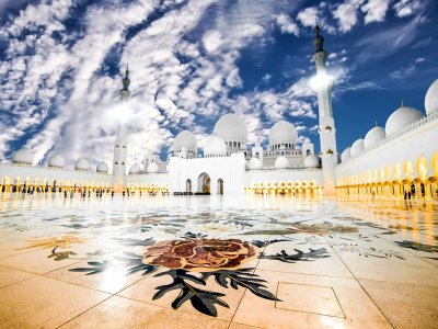 Abu Dhabi Sheikh Zayed Mosque Half Day from Dubai