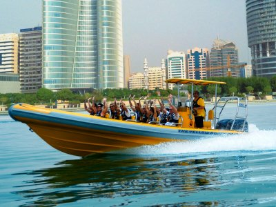 Sightseeing Tour: Emirates Palace, Royal Palaces and Grand Mosque