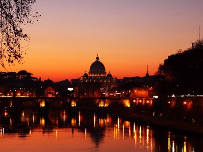 Rome's Best at Sunset