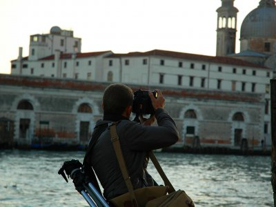 Photographic tour in Venice on a boat